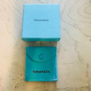 Tiffany & co. Box and bag only